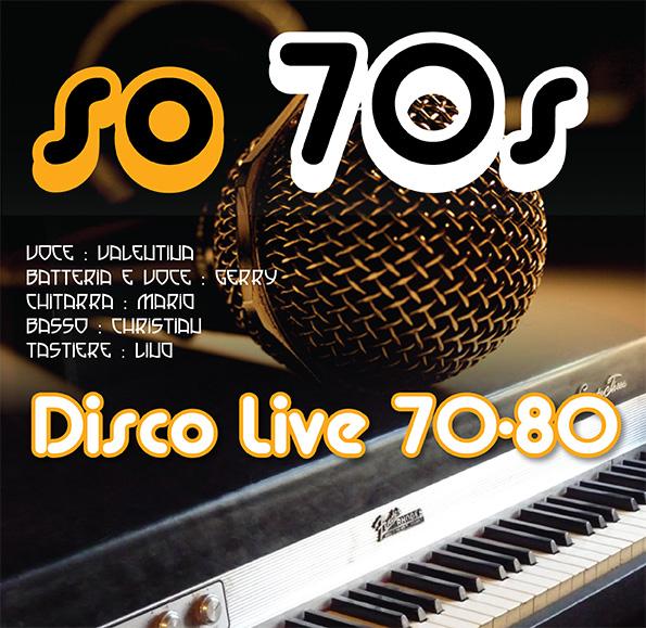 Musica dal Vivo 70-80 a Villa Paola